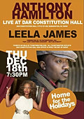 anthonay hamilton & leela james LIVE
