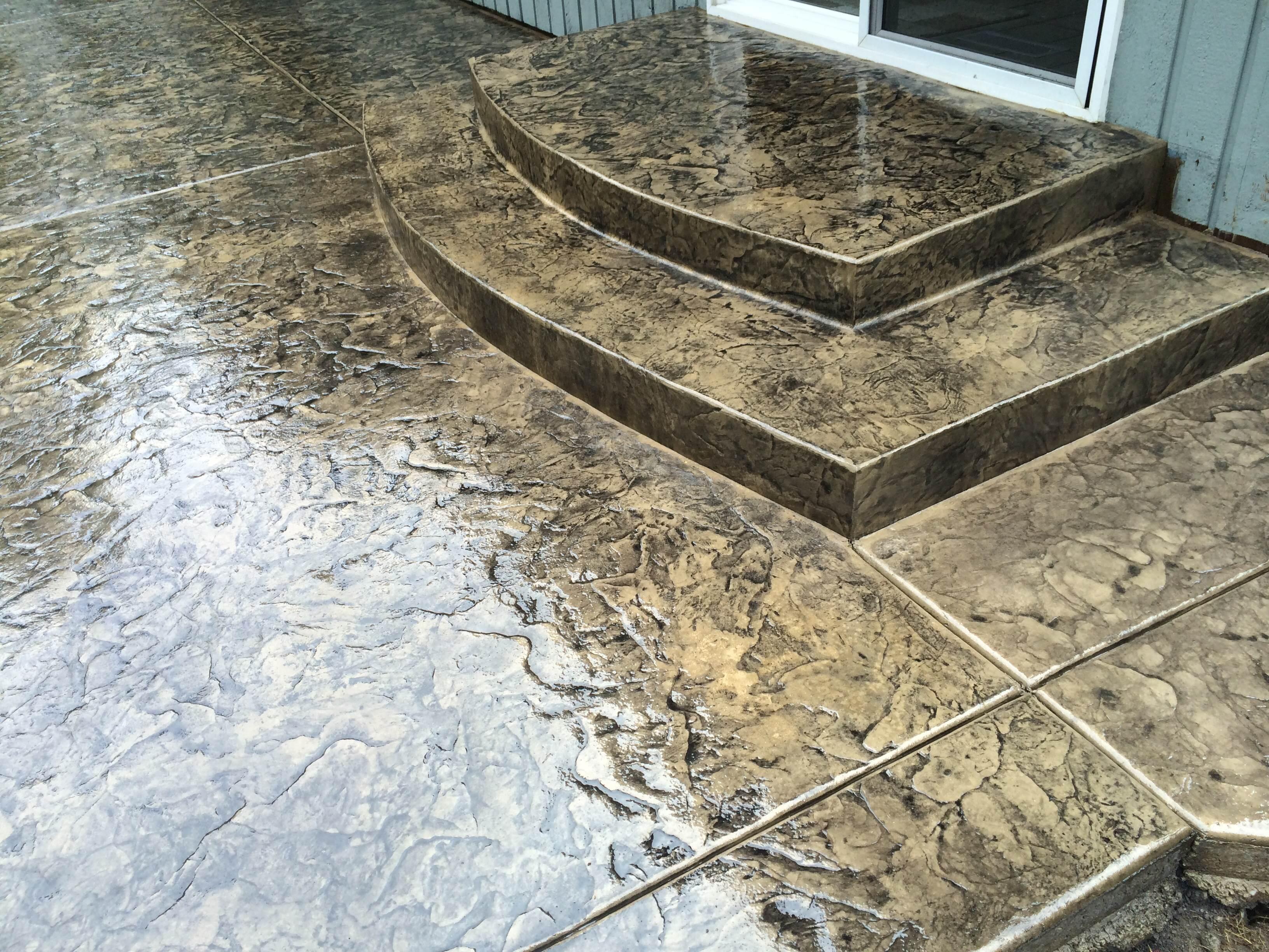Explore decorative concrete seattle wa linder concrete for Garage addition cost estimator