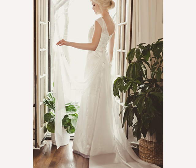 Handmade Wedding Dresses Chicago : Indie and custom bridal gowns in chicago by veronica sheaffer