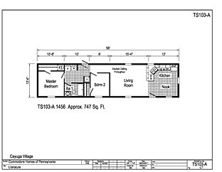 Single wide for 14x66 mobile home floor plan