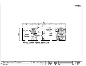 Single wide for 14x40 mobile home floor plans