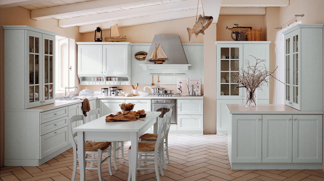 Credenza Provenzale Bianca Ikea : Azzurrocucine cucine
