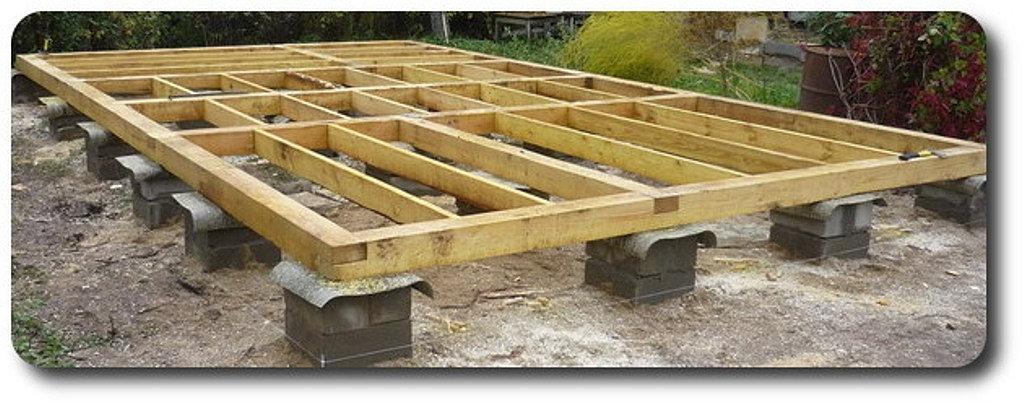 Как сделать столбчатый фундамент под дом