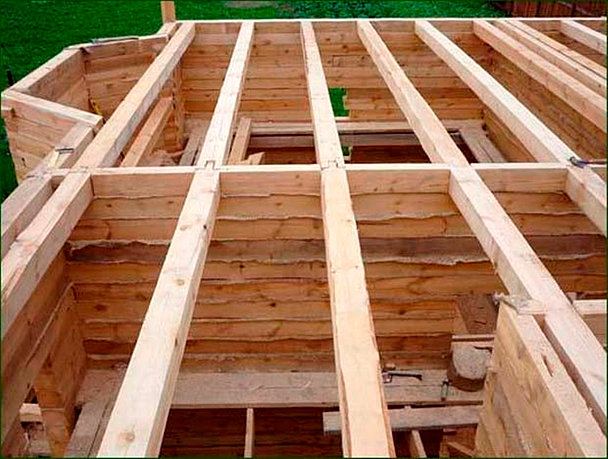 Построить дом из бруса один этаж своими руками
