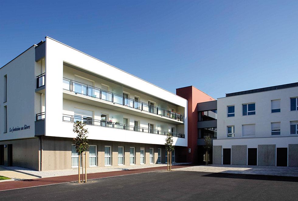 william gohier agence architecture urbanisme rennes laval ehpad edilys saint malo. Black Bedroom Furniture Sets. Home Design Ideas