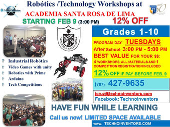 Club Robótica 1er semestre2016
