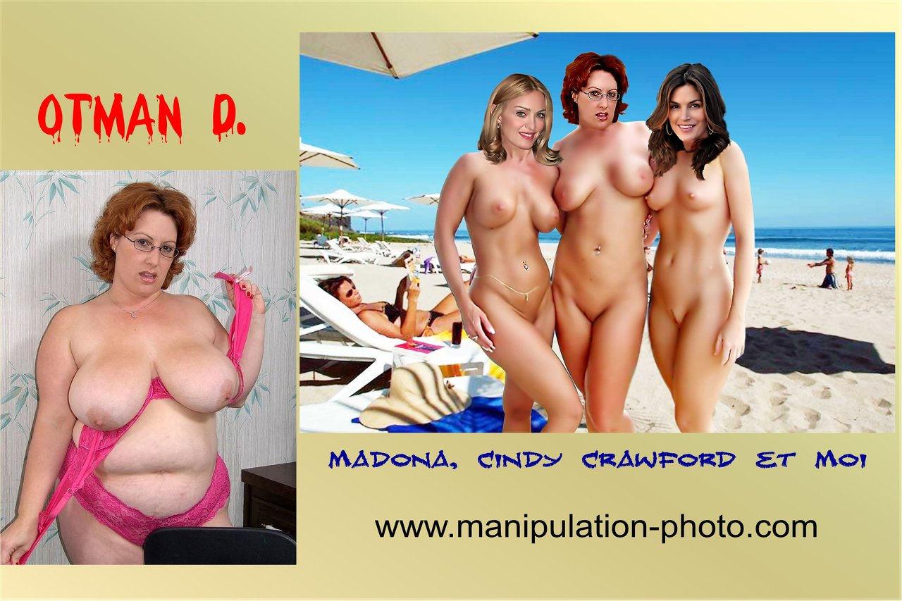 Madona Cindy Crawford et moi 2.jpg