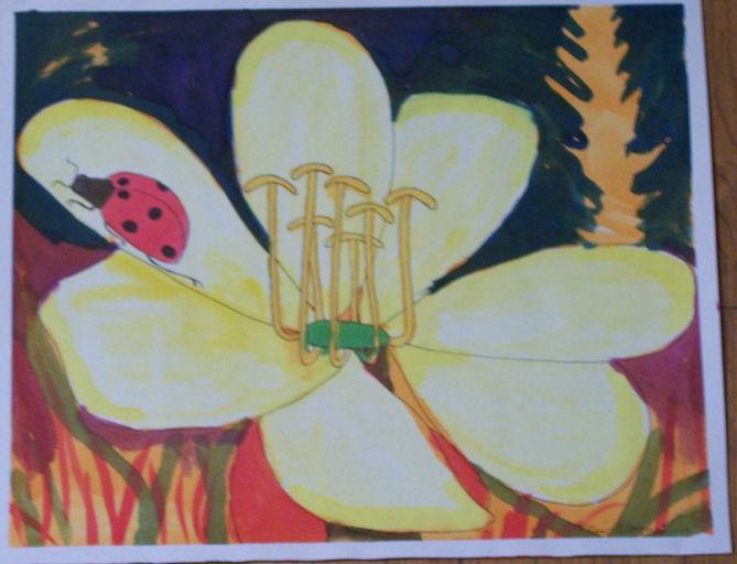 ladybug 2 watercolor