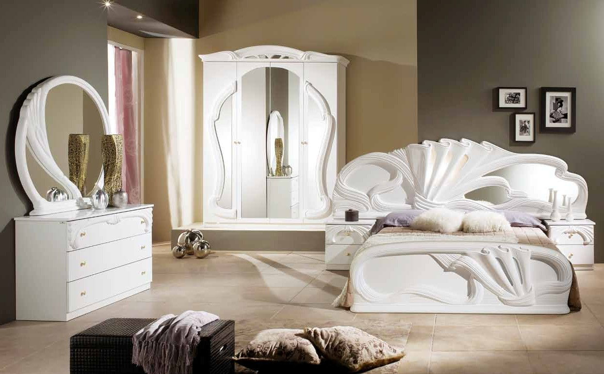 ZAFFIRO BEDROOM SET WHITE