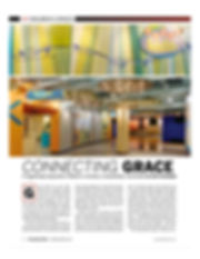 WFX magazine article of Grace Church STL newly themed children's ministry space is receiving national attention and recognition. DE|SL LLC