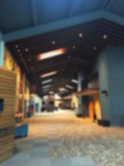 Element Church renovated concourse. DE SL LLC