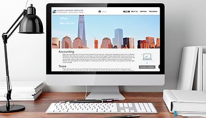 Accounting Webite Design