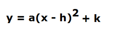 quadratics | Vertex Form