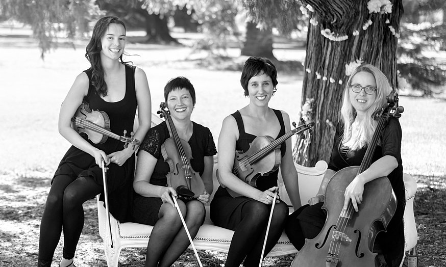 Adelaide String Quartet Music Aurora Strings - weddings & events
