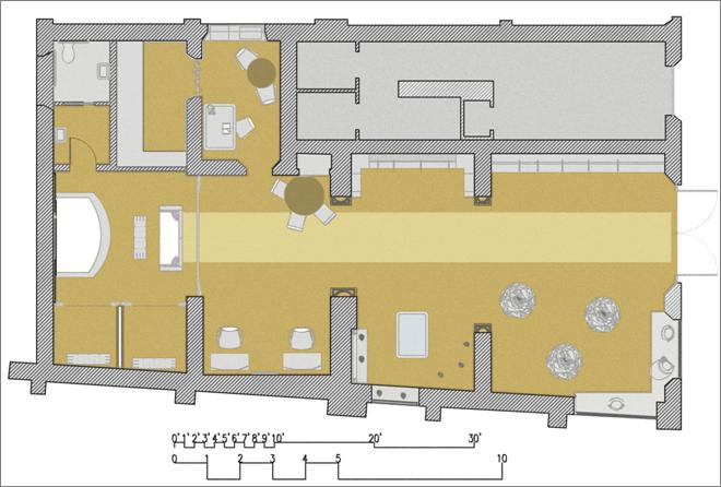 Leia cadotte design created by lwcadotte for Endicott college interior design
