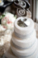 Ampersand Cake Topper Greensboro Wedding Planner