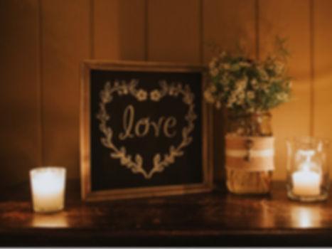 Greensboro Wedding Planner Love Sign