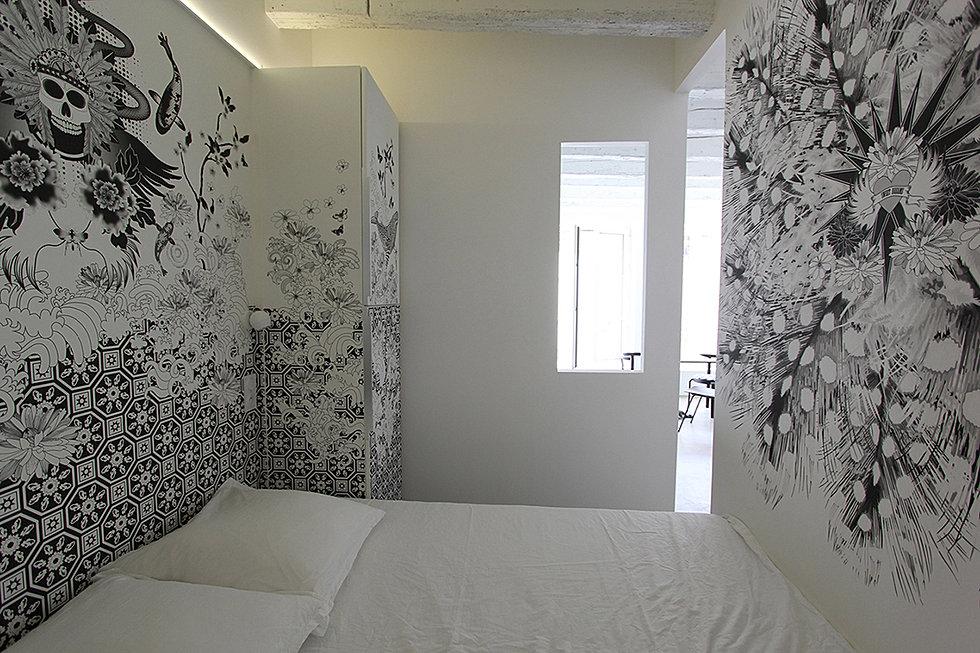 conceptuwall papier peint panoramique. Black Bedroom Furniture Sets. Home Design Ideas