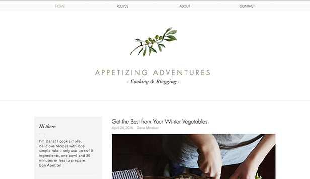 Recipes Blog