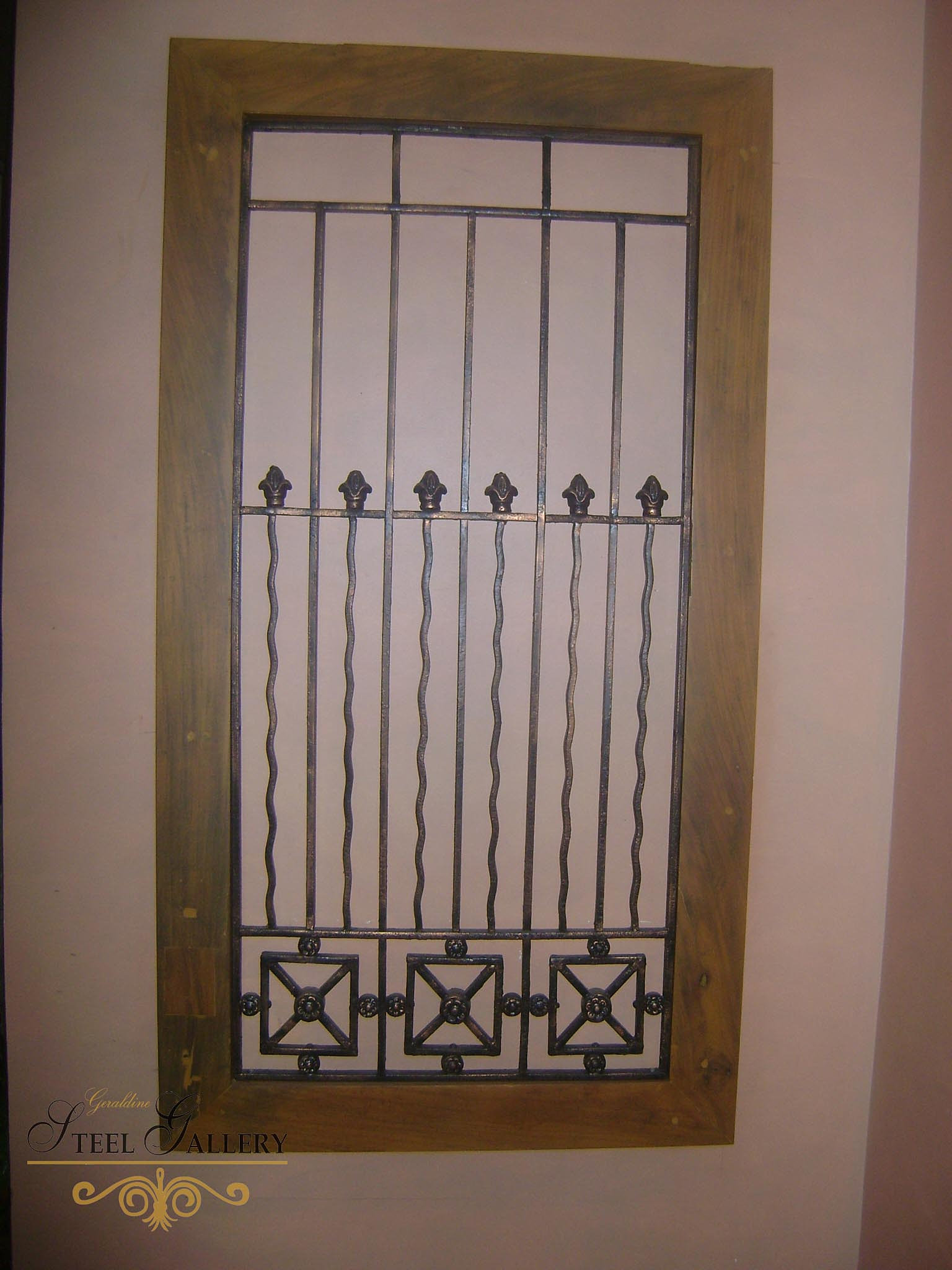 Geraldine Steel Gallery Wrought Iron Philippines