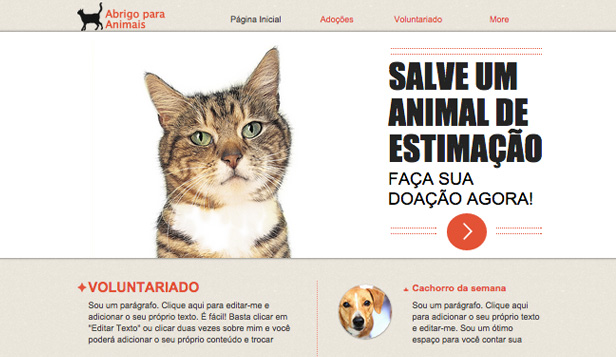 Abrigo para Animais