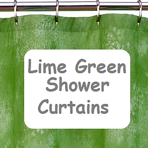 Lime Green Shower Curtain for Your Bathroom Decor - cover