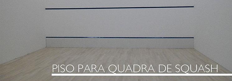 PISO PARA QUADRA DE SQUASH