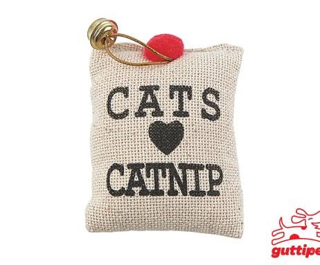 Brinquedo Saquinho Catnip c / Guizo