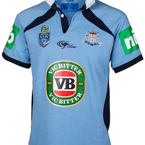 SOO NSW Blues classic Jersey