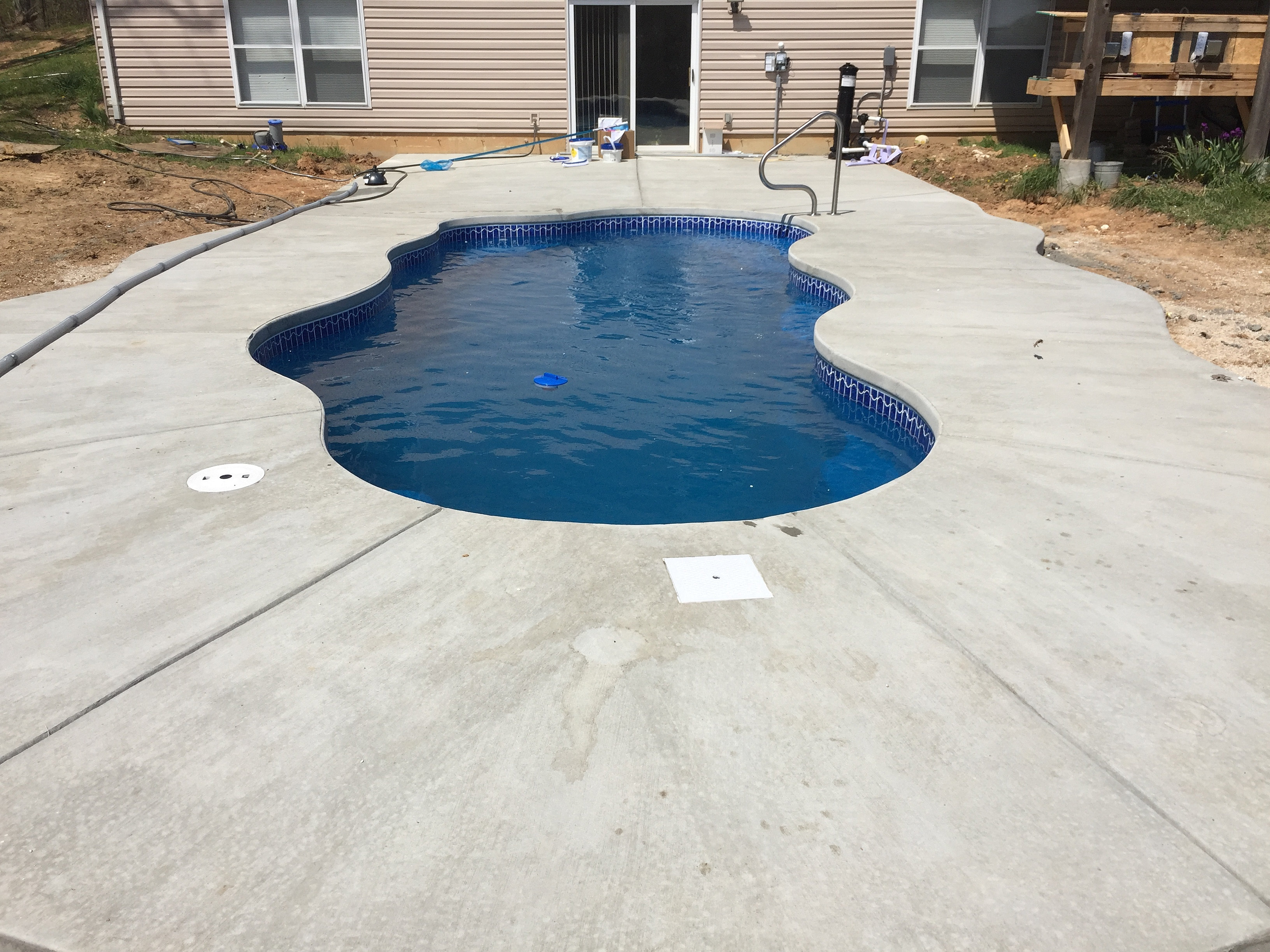 Wideman pools llc st louis pool builder installer for Pool durchmesser 4 50