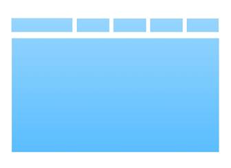 top navigation html website template wix. Black Bedroom Furniture Sets. Home Design Ideas