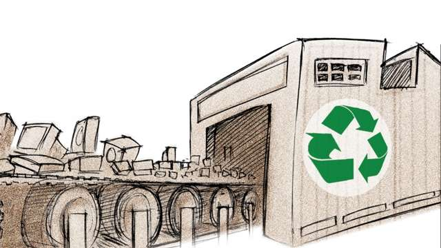 Electronic recycling business plan
