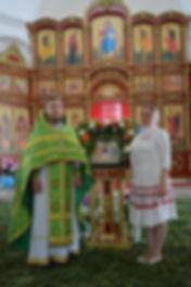 Протоиерей Владимир (Бирюков) с супругой Ириной