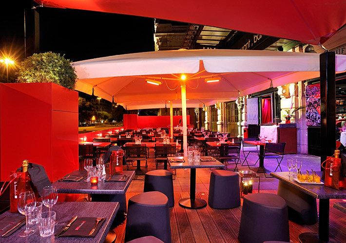 Terrasse Restaurant Lyon : Architecte d u0026#39;int u00e9rieur lyon hotel restaurant spa bar yacht