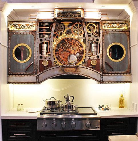 Steampunk kitchen design steampunk toronto for Kitchen designs steampunk