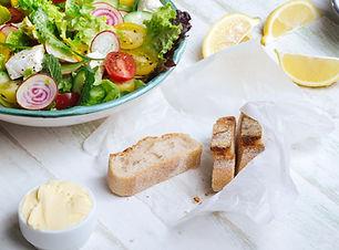 Fräsch sallad & Bread