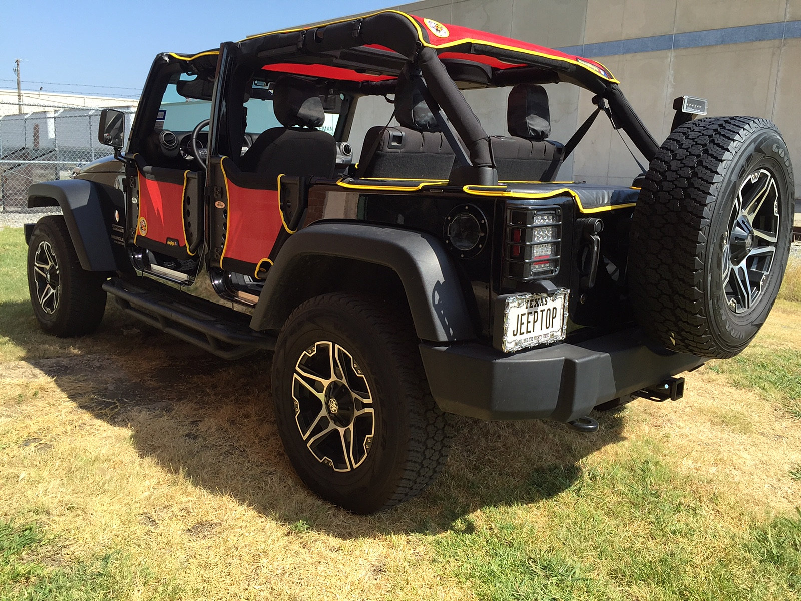 Jeep Wrangler Body Armor >> Custom Jeep Wrangler Top