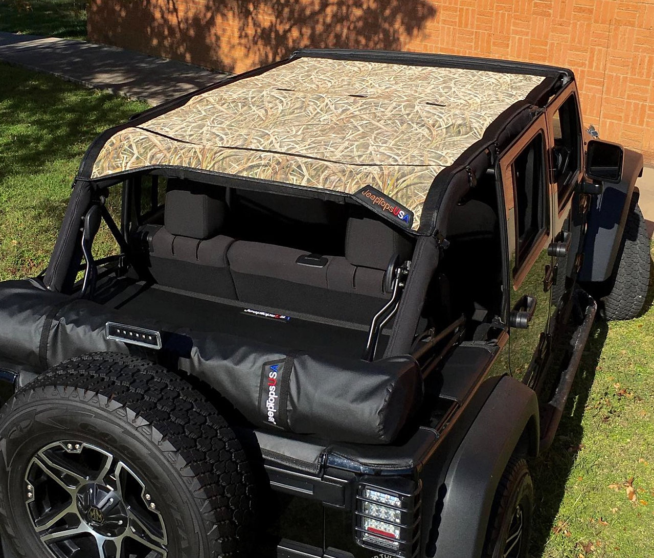 Jeep Wrangler Jku >> Jeep Tops USA, Jeep Shade Tops, Hardtop Headliners & Accessories | Jeep Wrangler JKU 4 Door ...