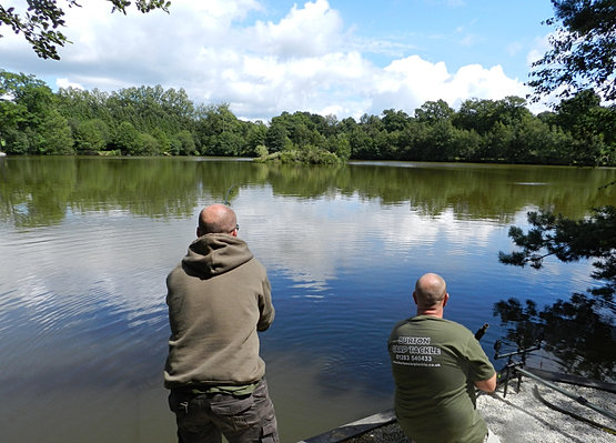 Carp fishing in france at lac clement for Fishing in france