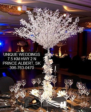 8 ft Crystal Tree