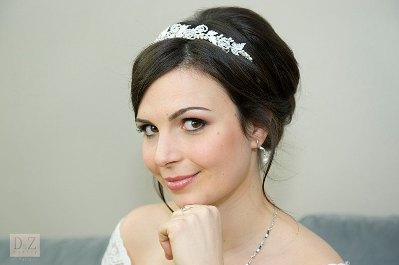 coiffure maquillage mariage 92