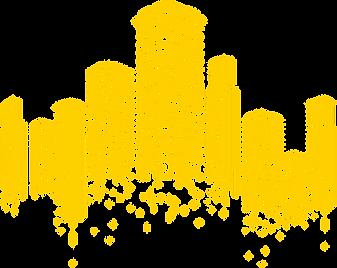 Multicolored_Buildings_Decor_PNG_Clip_Ar