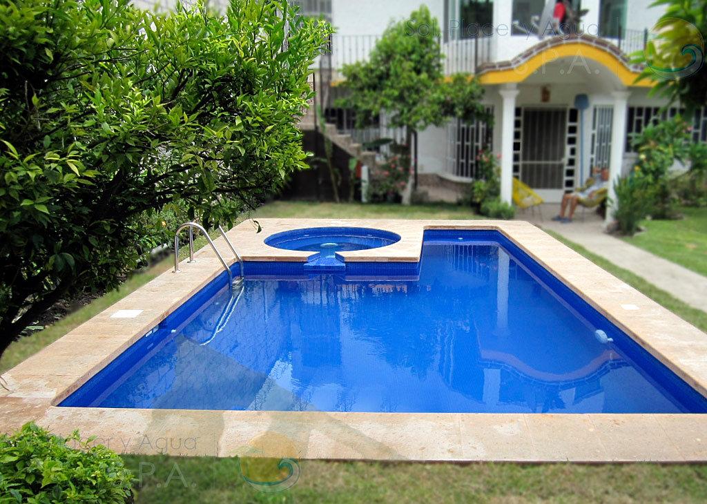 Calefacci n solar alberca morelos sol placer y agua for Piscina economica