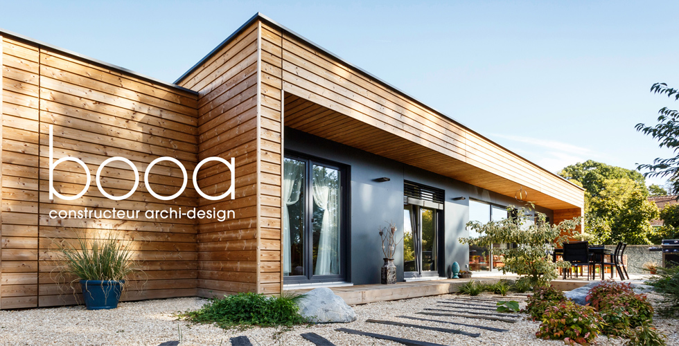 booa constructeur maisons ossature bois design prix direct fabricant. Black Bedroom Furniture Sets. Home Design Ideas