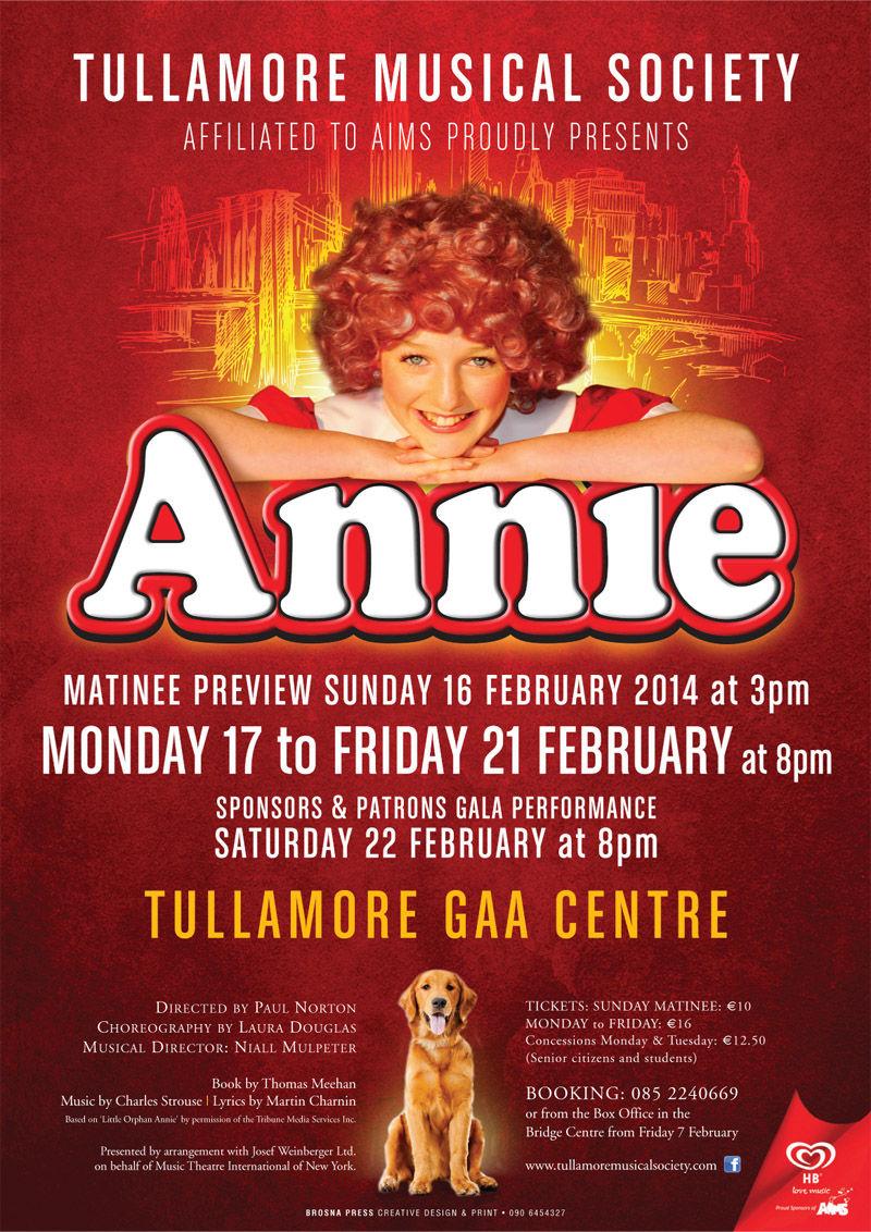 Annie 2014 Poster