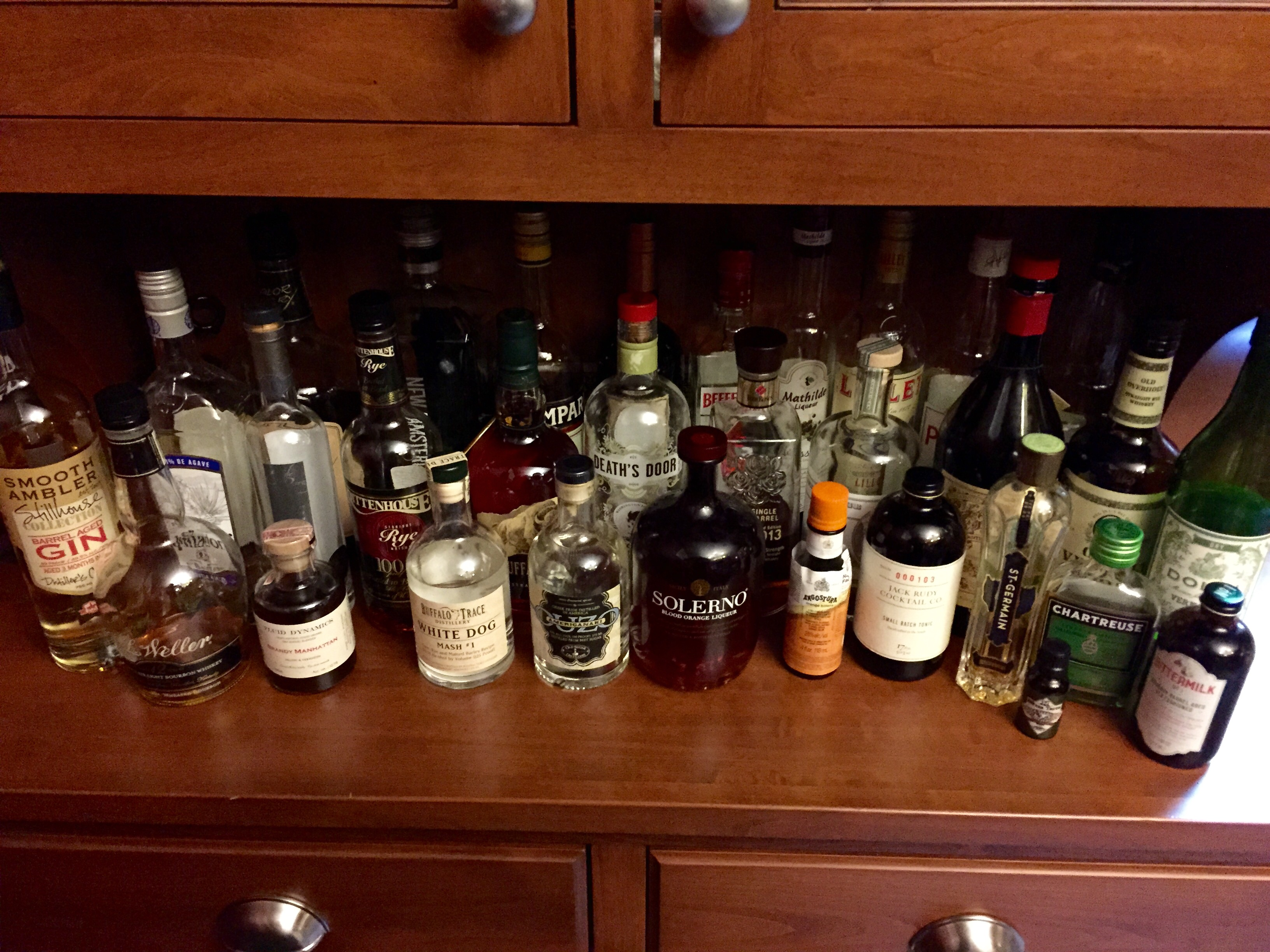 home bartender - The ___ most important bottles for the home bar ...