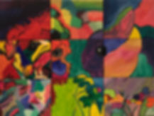 workshop puzzelschilderij marleen bakker