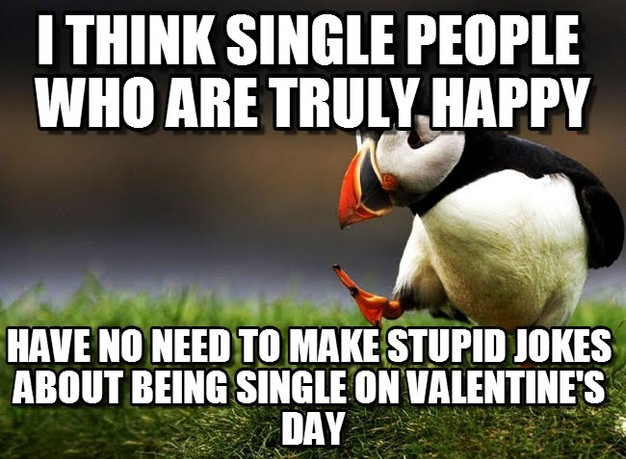 Funny Memes About Being Single On Valentines Day : Things to do this valentine s day if you are single