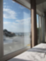 Sea View Hillside Villa. Lie in bed and look at the sea holiday let