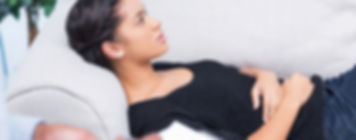 A woman in hypnotherapy